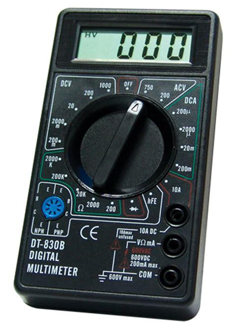 Pocket Size Digital Multimeter Dt830b all sun dt830b ce marking 3 1 2 digital multimeter