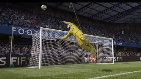 new fifa 15 shows smart keepers goals