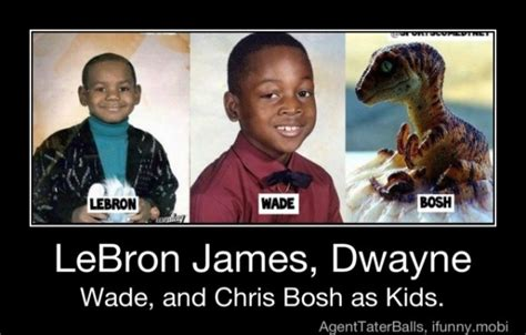Chris Bosh Dinosaur Meme - video nba broadcast partner does chris bosh resembles a