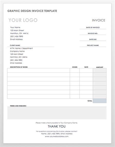 10 free freelance invoice templates word excel