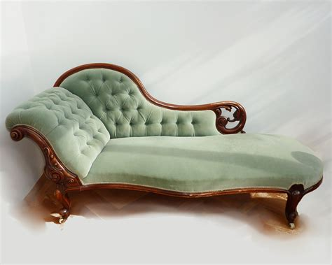 victorian chaise victorian chaise lounge aqua