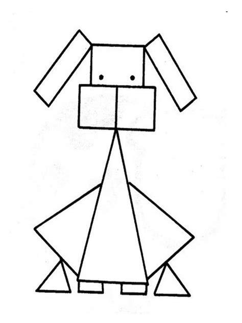 figuras geometricas simples figuras material escolar az dibujos para colorear