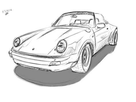 Porsche 911 Sketches by Porsche Sketches From Stuttgart Moving