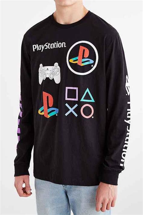 Hoodie Playstation Japan sony playstation sleeve from outfitters