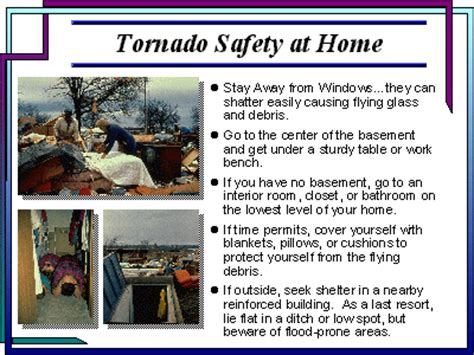 Tornado Safety Tips At Home Tornado Safety Plan Template