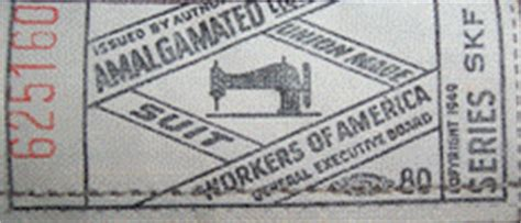 a history of union labels the invisible