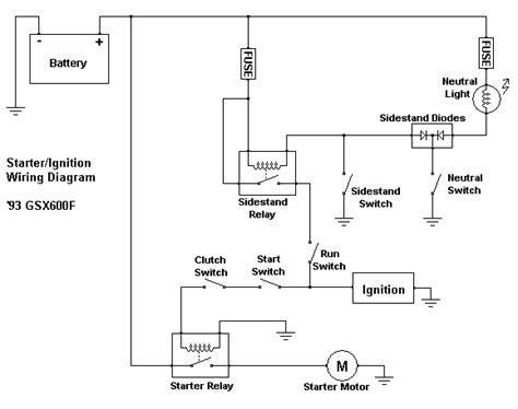 starter motor relay wiring diagram impremedianet
