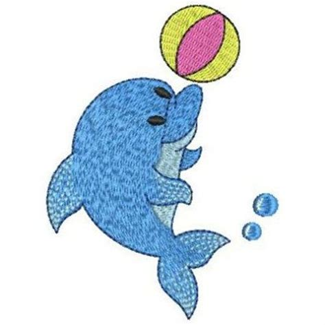embroidery design dolphin need a cute dolphin embroidery design cute animals