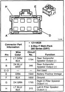 wiring diagrams for 2001 chevy tahoe stereo wiring free