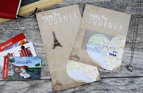 Travel Site Gift Cards - free printable enjoy the journey graduation gift card holder gcg