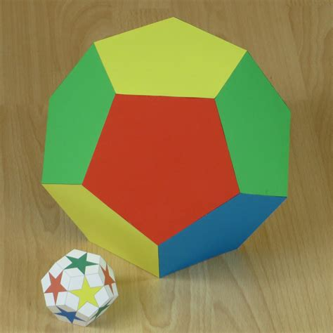 How To Make A Dodecahedron Out Of Paper - paper dodecahedron