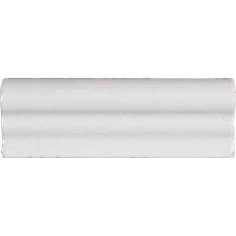 ms international whisper white 2 in x 6 in crown molding