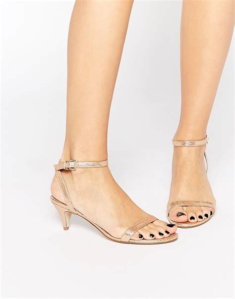 asos asos honeydew heeled sandals at asos