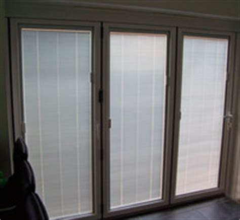 blinds for bifold doors magnetic slider operation