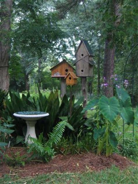 Backyard Birdhouse by 25 Trending Bird Bath Garden Ideas On