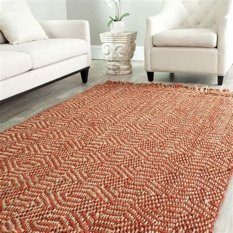 6 jute rug safavieh casual fiber woven arts rust sisal rug 4 x 6 by