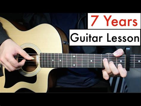 guitar tutorial cover lukas graham 7 years guitar lesson tutorial chords