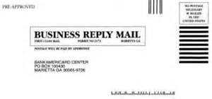 business reply card 1998 archive