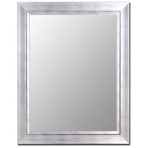silver framed bathroom mirror 24 model bathroom mirrors silver eyagci com