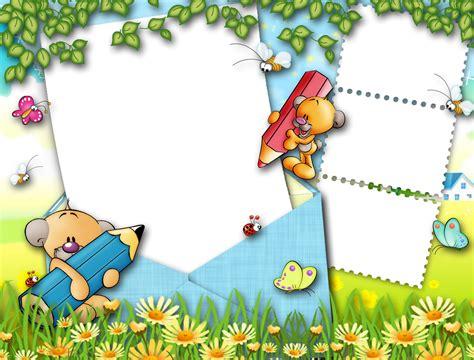 imagenes infantiles vectorizadas gratis marcos infantiles para fotos digitales gratis imagui