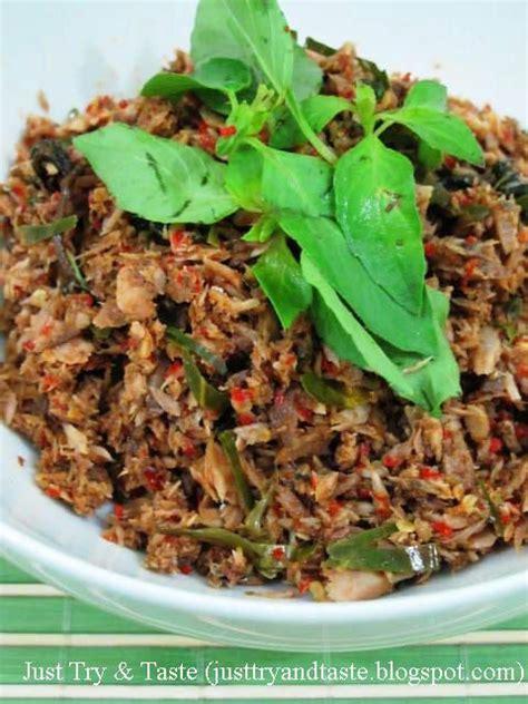 resep tongkol suwir rica rica recipes culinary cooking