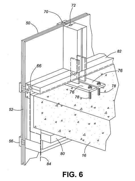 curtain wall mullion detail patent us20060016133 hybrid window wall curtain wall