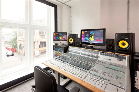 studio mixer desk acm the academy of contemporary school refurbishment space pod office