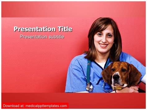 powerpoint templates for veterinarians veterinarian powerpoint template