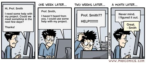 phd comics advisor email phd comics help this is a theme sometimes emails are