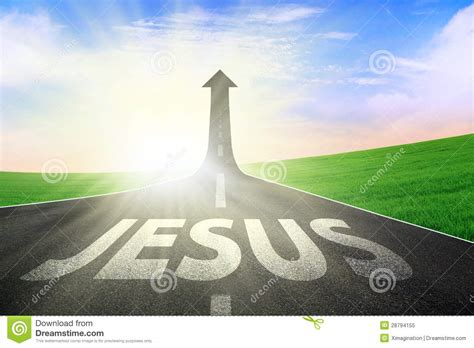 The Way To road way to jesus royalty free stock photo image 28794155