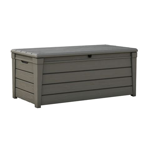 backyard storage box keter 145 x 69 7 x 60 3cm 455l brightwood outdoor storage box