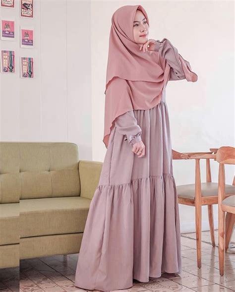 50 koleksi model baju gamis syar i tanah abang modern terbaru 2019 wikipie co id