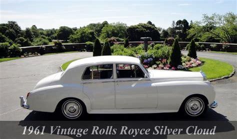 rolls royce limo toronto 1961 rolls royce silver cloud limousine rentals toronto