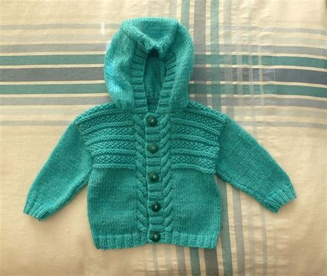 free knitting pattern hooded jumper 225 best baby patterns images on pinterest
