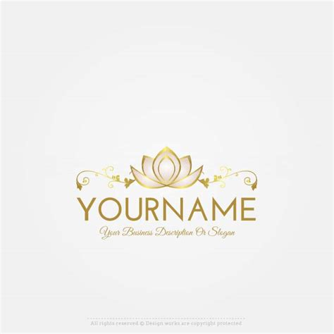 free logo word design online free logo maker lotus logo design