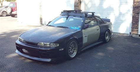 Paper Rack 187 struka s14 with roof rack team rowdy