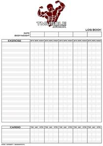 bodybuilding log book templates free download