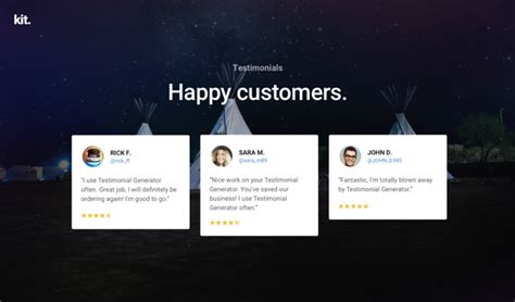 testimonial layout inspiration the free divi testimonials layout kit includes 11