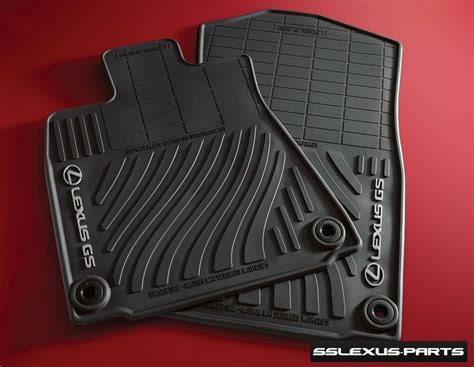 Lexus Oem Floor Mats - lexus gs350 gs450h 2013 2018 rwd 4pc oem genuine all
