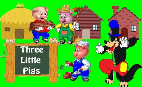three stories three little pigs bedtime stories for kids in english
