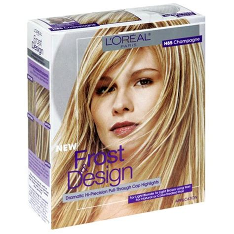 best at home frosting kits for hair l oreal frost and design pull through cap highlight kit