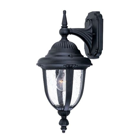outdoor matte acclaim lighting monterey collection wall mount 1 light