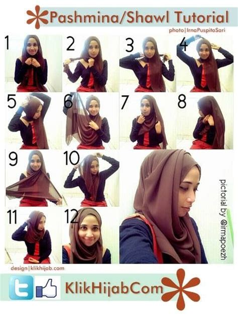 tutorial pashmina turki beautiful hijabs and how to wear on pinterest