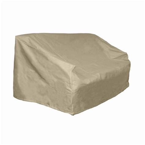 hearth and garden patio furniture covers hearth garden sf40254 loveseat bench cover outdoorandabout