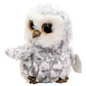 beanie boo owlette white owl toys toyworld