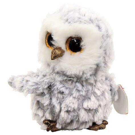 beanie boo beanie boo owlette the white owl mr toys toyworld