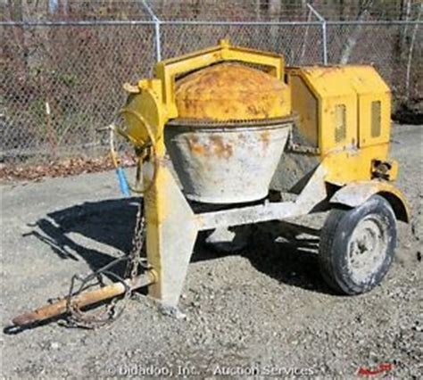 Mixer Gx 24 canoga 300g front load concrete mixer gas w honda gx 240 9