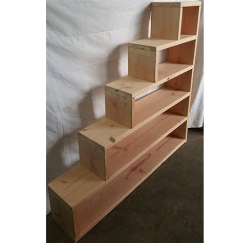 solid wood custom  stairs  bunk  loft bed
