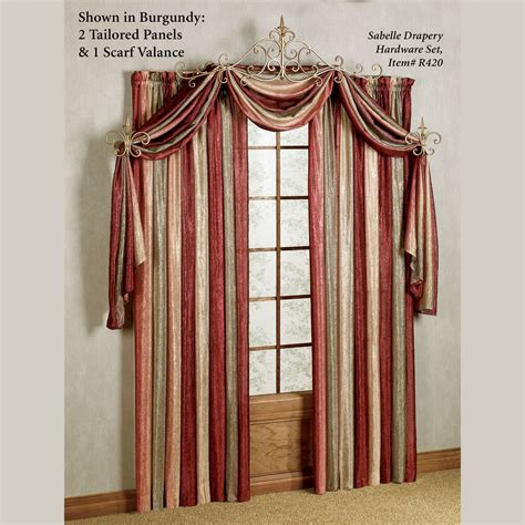 Curtain Scarves Valances ombre semi sheer scarf valance and window treatments