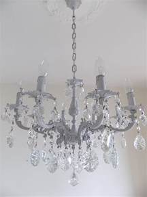 Grey Chandelier Light Grey Italian Vintage Glass Chandelier